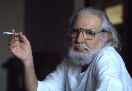 Ernesto Cardenal – Take care of yourself, Claudia, when with me.