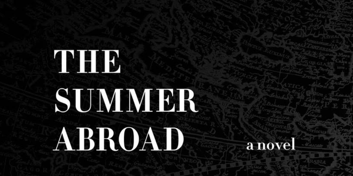 The Debut, The Summer Abroad! (Instead of a billboard, a scroll of a post.)